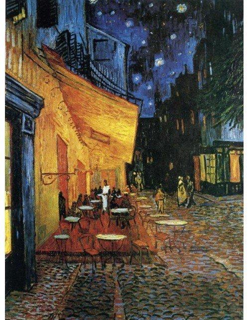 Lamina- tema Cafe en Arles