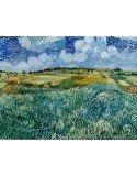 Lamina paisaje azul