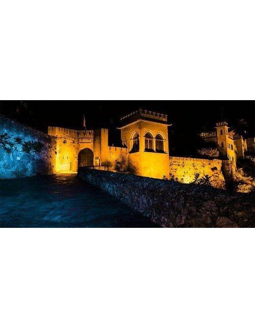 Castillo de Xàtiva-vista nocturna