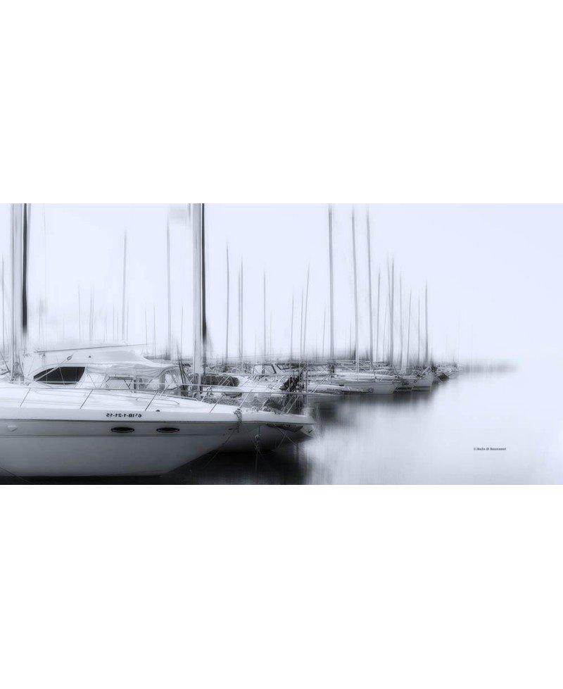 Veleros en el puerto