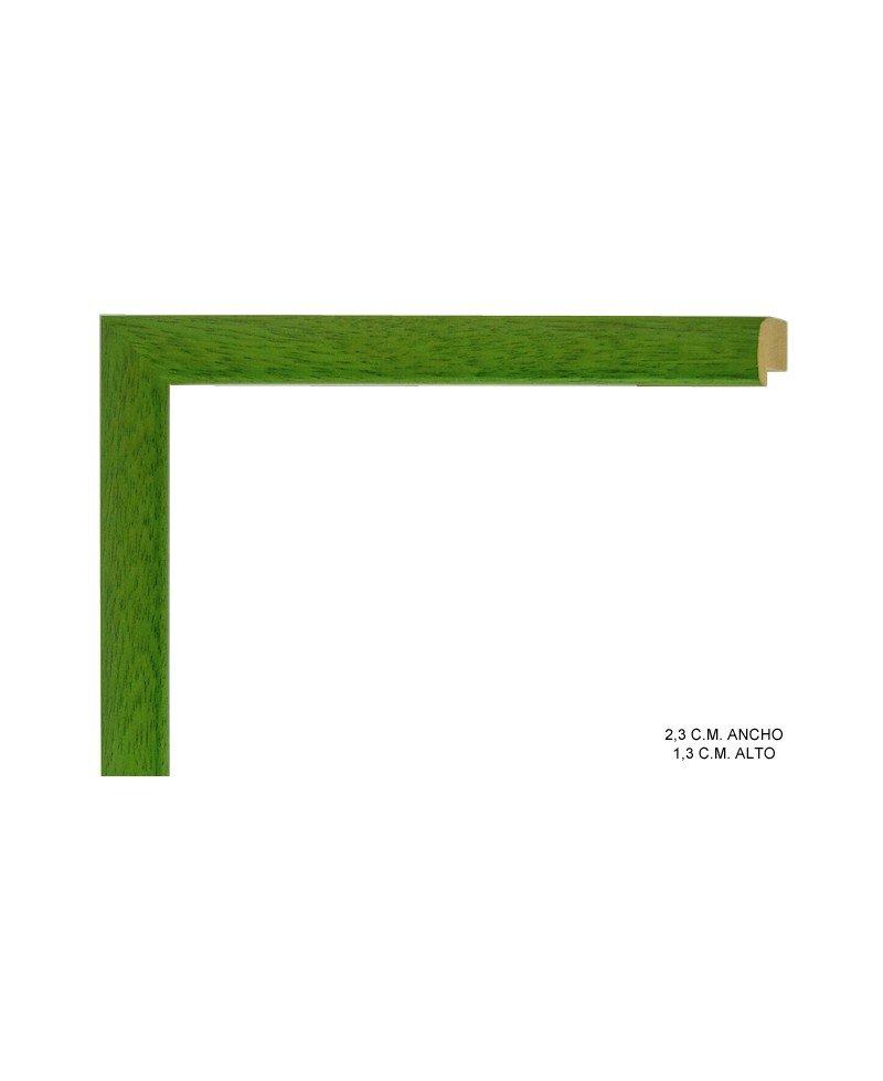 Moldura verde clara