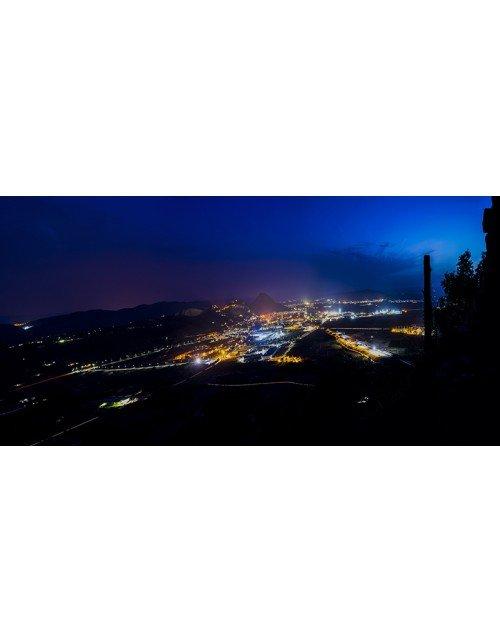 vista de xativa desde el Puig