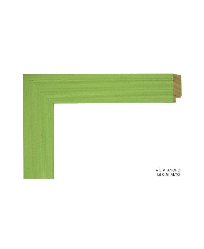 Marco de color verde