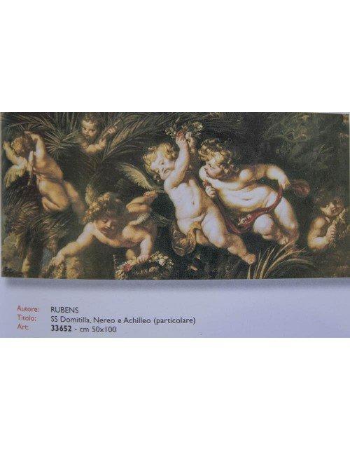 Lamina angeles de Rubens