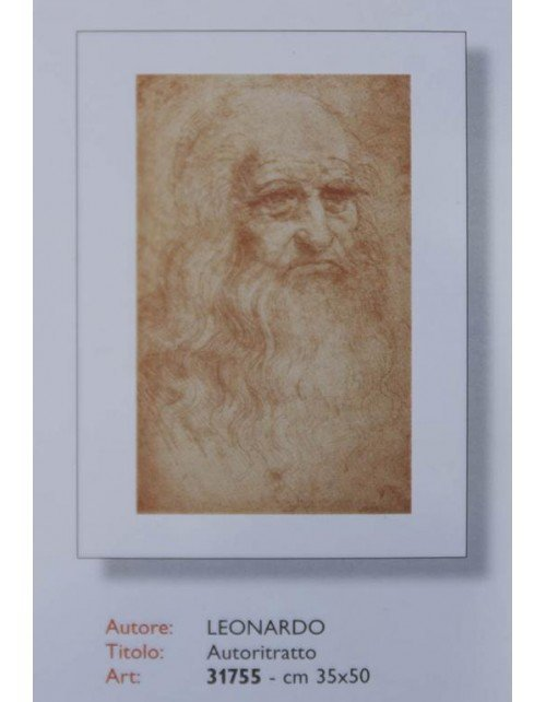 Autorretrato de Leonardo