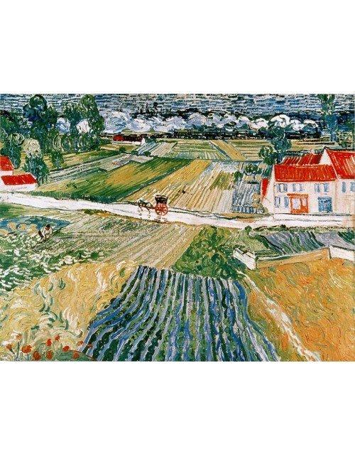 Paisaje después de la lluvia Van Gogh