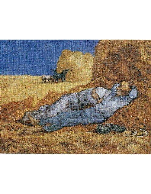 Lamina descanso al mediodía de Vicent Van gogh