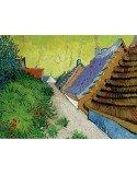 Lámina Rue du village Arles por Vincent van Gogh
