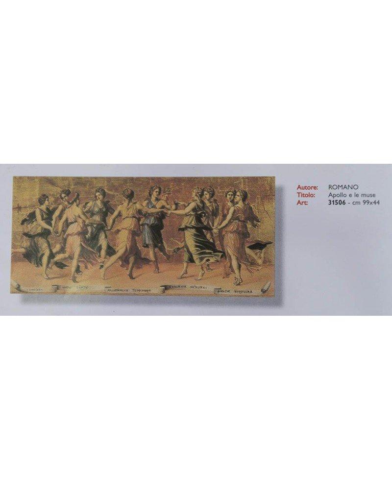 Romano   Apollo e le muse