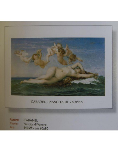 Cabanel Nascita di Venere