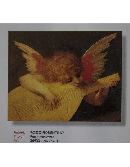 Rosso-Fiorentino-  Putto musicante