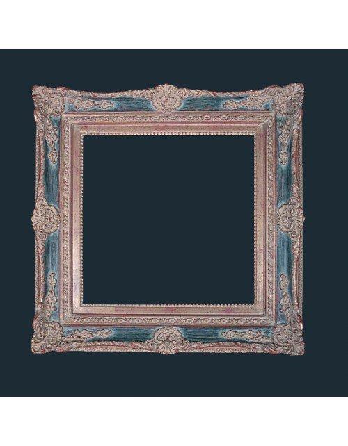 Marco estilo clasico azul