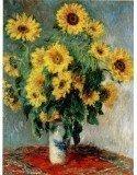 Ramo de girasoles. Autor Claude Monet.