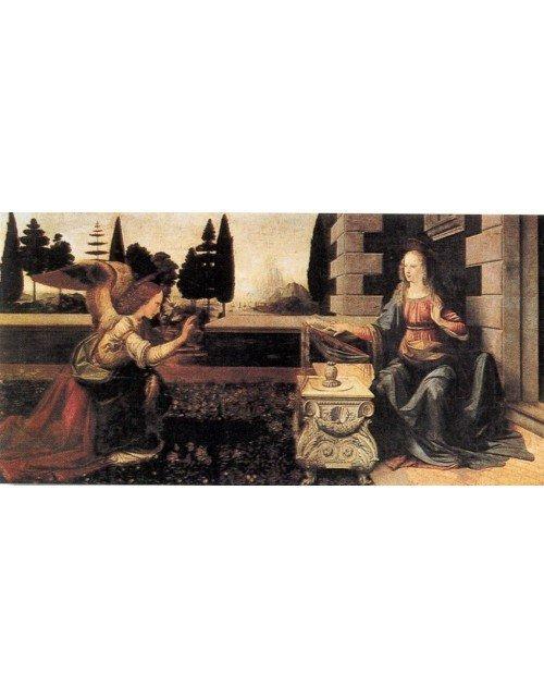 Annunciation Leonardo Da vinci