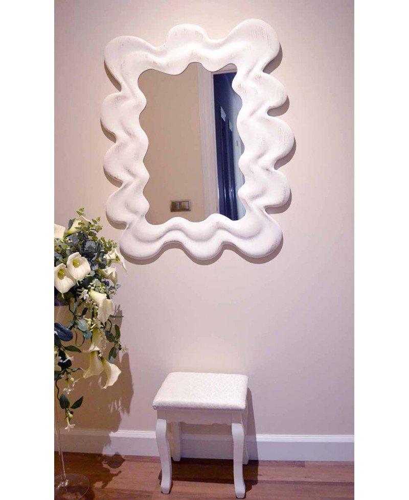 Espejo decape blanco