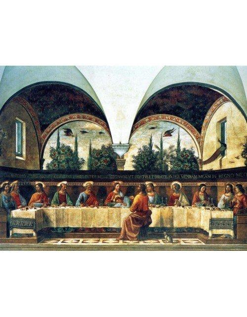 Ultima cena. Domenico Ghirlandaio