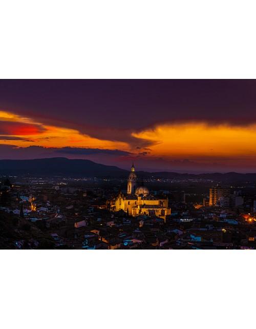Crepúsculo en Xàtiva