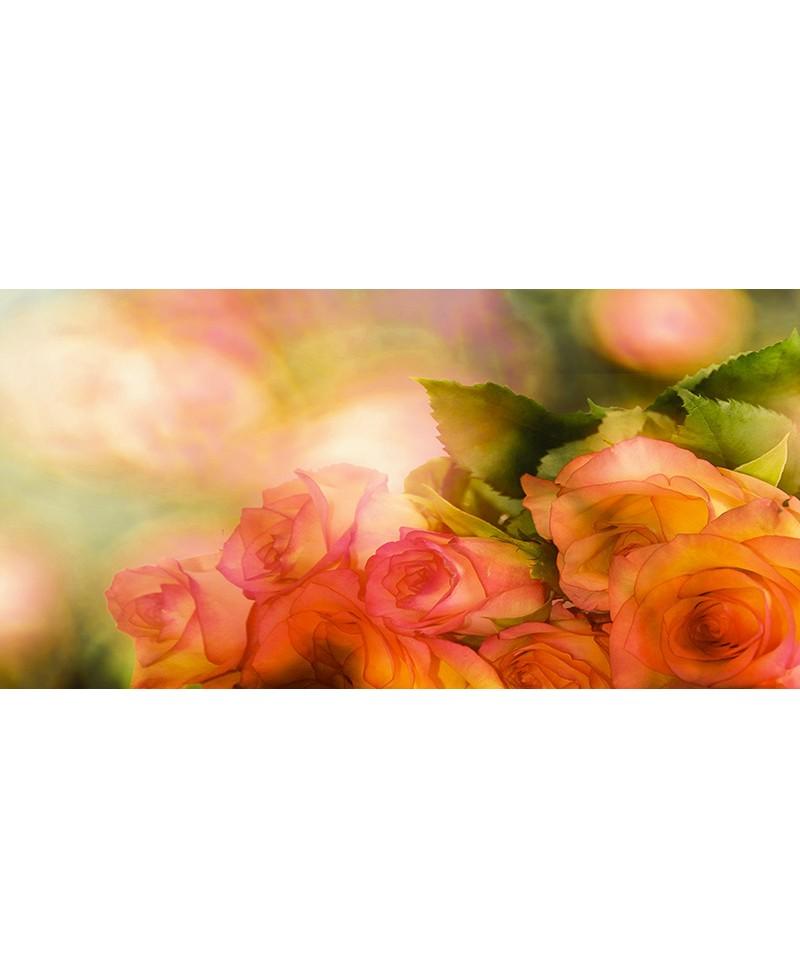 rosas naranja