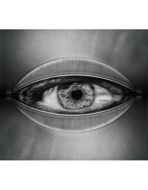 Cuadro ojo modernista
